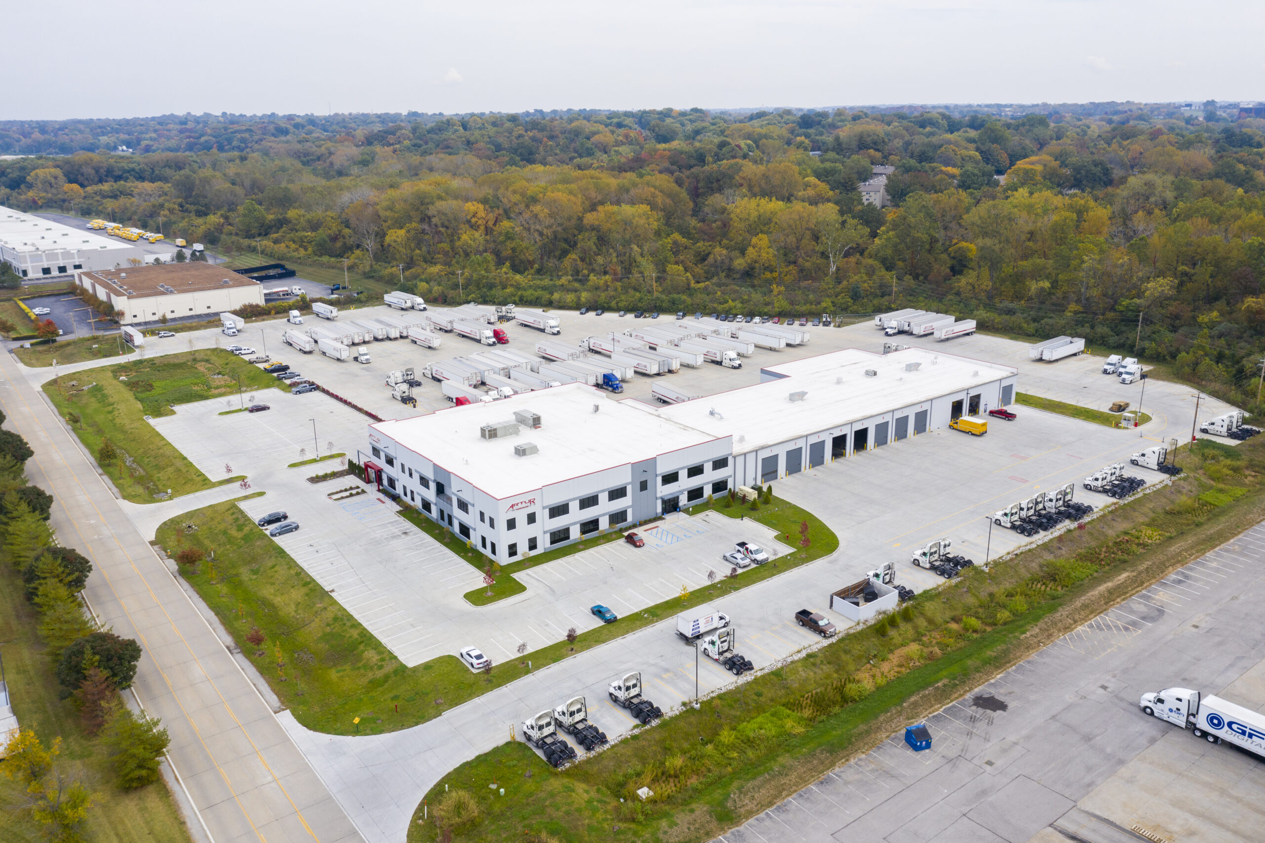 70,000 SF Truck Maintenance Facility and Two-Story Office