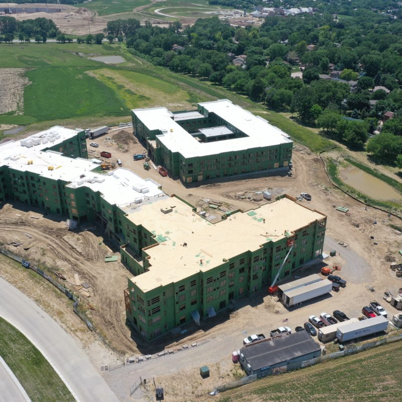 334,000 SF, 301 Unit Assisted Living/Memory Care and Independent Living Facility