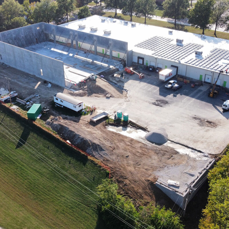 Puzzle Warehouse   ARCO Construction Project